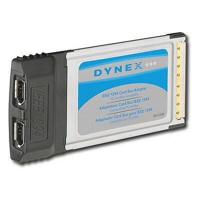 Dynex IEEE 1394 6 Pin Firewire Card Bus Adapter DX-FC202 Windows 7 Compatible