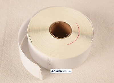 "12 Rolls... 30252 White Labels, 1-1/8""x3-1/2"" compatible with Dymo® LabelWriter"