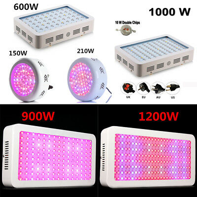 150W 200W 600W 900W 1000W 1200W LED Grow Light Kits Panel Lamp for Plant Hydro