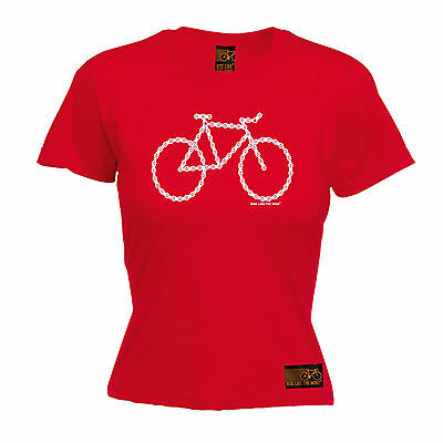 Chain Gang WOMENS T-SHIRT Cyclist Bike Riding Cycling Funny birthday gift