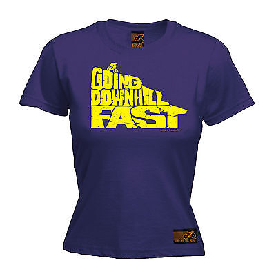 Going Downhill Fast Bike WOMENS T-SHIRT Bike Cycling Funny Tee birthday gift