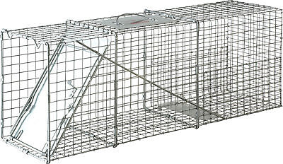 Single Door Live Trap, No. LT4,  by Miller Mfg Co
