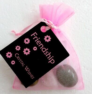 Crystal Wish Kit Pouch - FRIENDSHIP Gifts For Friends Him Her - FAST POSTAGE
