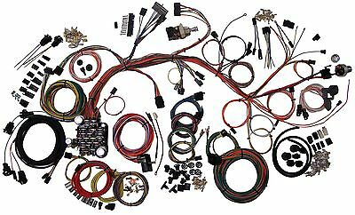 64 67 chevy chevelle classic update american autowire wiring 1961 64 chevy impala american autowire classic update wiring harness 510063