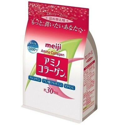 Meiji Amino Collagen Powder Refill 214g - 30days