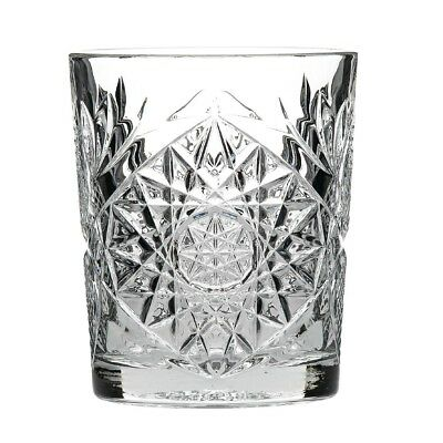 Pack of 12 Libbey Retro Hobstar Whiskey Glass 350ml Tumblers
