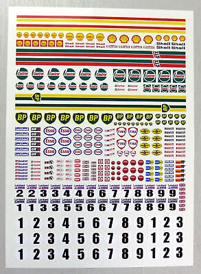 SLOT CAR SCALEXTRIC 1/32nd scale Rally stickers decals
