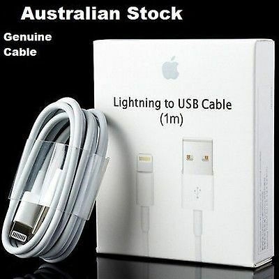 Original Genuine Apple Lightning Data Sync Cable Charger for iPhone 5C 5S 6 iPad