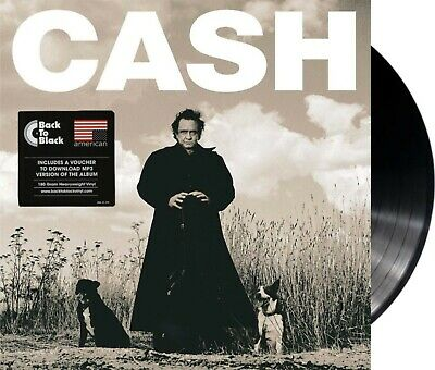 "Johnny Cash ""american recordings"" 180gr heavyweigth Vinyl LP + MP3 NEU"