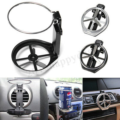 Universal Drink Bottle Cup Holder Stand Mount For Car Auto Truck Vehicle Folding