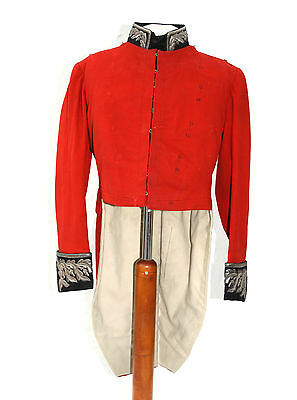 Scarce Victorian British Army Lord Lieutenant Officers Tunic / Jacket / Coatee