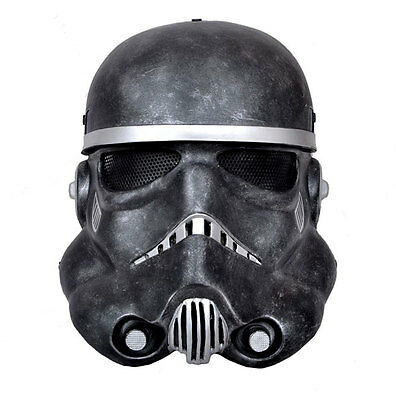 COOL Fiber Resin  Wire Mesh Paintball Airsoft Protection Star Wars soldiers Mask