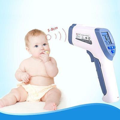 Digital Infrared Forehead Ear Thermometer Baby Adult Body LCD Non Contact IR