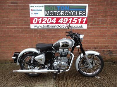 New Royal Enfield Bullet Classic 500 Efi Motorcycle