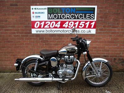 New Royal Enfield Bullet Classic 500 Chrome Efi Motorcycle