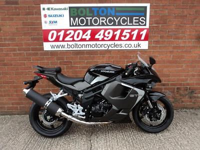 New Pre Registered Hyosung Gt650R Motorcycle