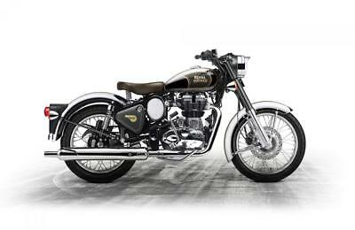 2018 Royal Enfield Bullet Classic Chrome  98.61 OVER 60M WITH A 99 POUNDS DEP