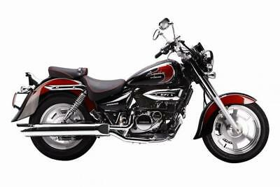 2016 Hyosung Gv125C  8.9% Apr  54.92 Over 60M With A 99 Pounds Deposit