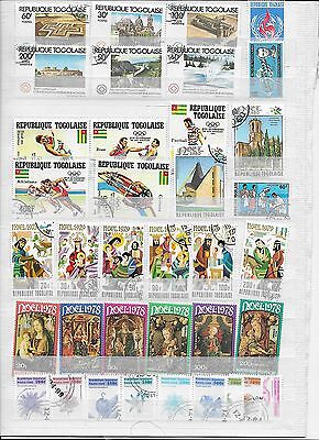 Great lot of Togolaise stamps (lot 2 )