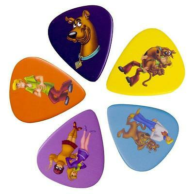 New Scooby Doo 5 Pack Guitar Plectrums