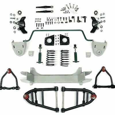 Mustang II 2 IFS Front End kit for 73-79 Chevy Truck w Shocks Springs & Swaybar