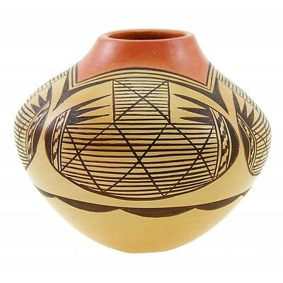 Hopi Native American Vase by Adelle Nampeyo