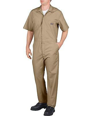 Dickies Men's Short Sleeve Work Coveralls Big And Tall - 33999RD_X