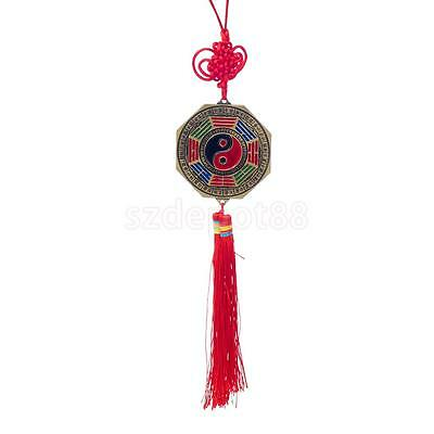Chinese Feng Shui 7cm Bagua Mirror Good Luck Fortune Prayer Hanging Charm