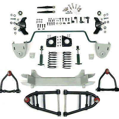 Mustang II 2 IFS Front End kit for 73-79 Chevy Truck Stage 2 Standard Spindle