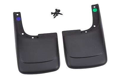 12496341 GM Molded Paintable Rear Splash Mud Guards 1996-2018 Express or Savanna