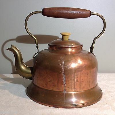 Copper Tea Kettle/Pot Made in Holland