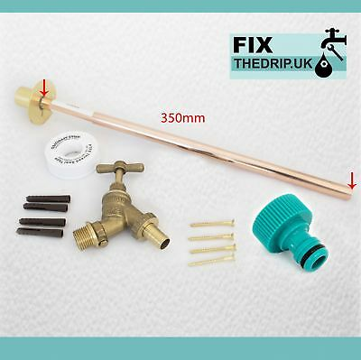 Outside Tap Kit Comes With Through Wall Mounting Flange And Accessories