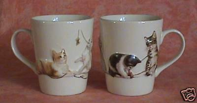 Mug - Tasse Relief Chat - Chaton