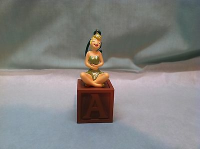 Hallmark Ornament Tinkerbell on a Block No Box 2005