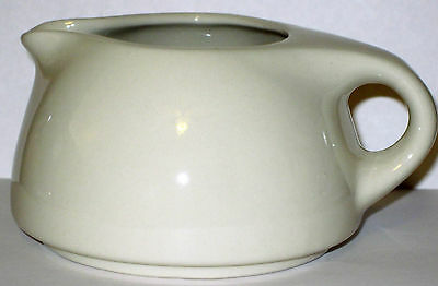 Russel Wright Oneida Stacking Creamer Ivory Color Stoneware Deco