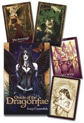 Oracle of the Dragonfae by Lucy Cavendish (English)