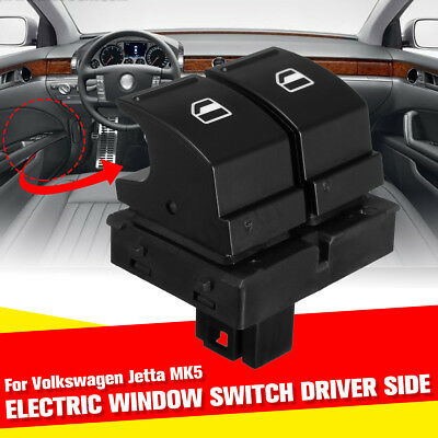Electric Window Switch Driver Side For Vw Golf Mk5 Passat B6 Eos Jetta Caddy -Uk