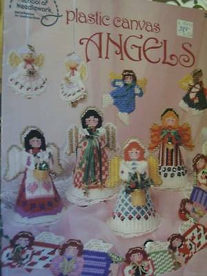 Plastic Canvas Angels Craft Booklet- ASN-Mansfield-Skaters/Ornaments/Treetops