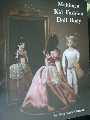 Making A Kid Fashion Doll Body Craft Sewing Booklet By Neva Wade Garnett