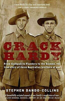 Crack Hardy by Stephen Dando-Collins (English) Paperback Book Free Shipping!