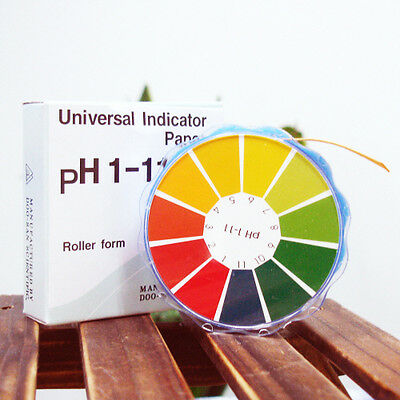 PH Test Paper Universal Indicator Handmade Soap Making pH Measurement Roll 196""