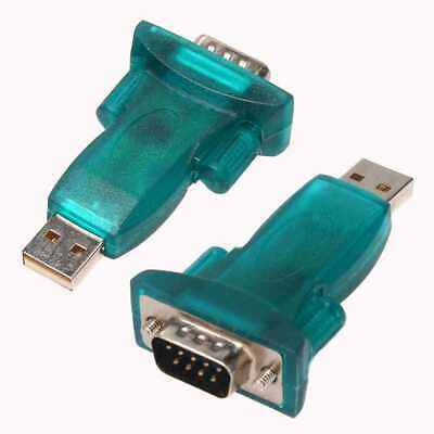 Adattatore Convertitore USB Maschio a Seriale Db9 Rs232 9 Pin USB Adapter COM