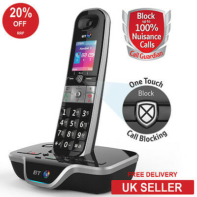 BT 8600 Single DECT Cordless Phone - Advanced Call Blocker - Answerphone