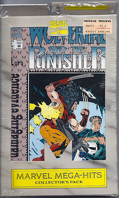(1993) Marvel's Greatest Collector's Pack Wolverine And The Punisher #1-3 Sealed
