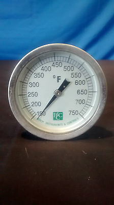 Trend, Roofmaster, Birch Instruments & Control Bi-Metal Thermometers Lot of 4