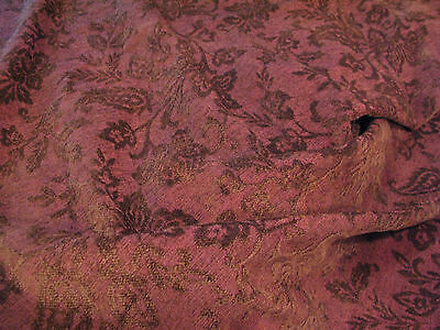 Antique Victorian Velour Tapestry/Upholstery Fabric