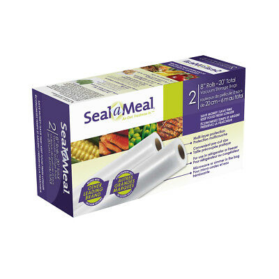 """Seal-a-Meal 8"""" x 10' Roll, 2-Pack VSB1-CNW"""