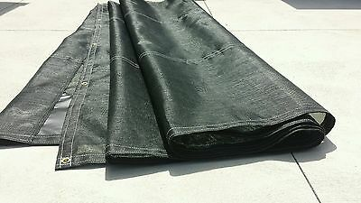 Black mesh, truck tarp, 7'x24' flip tarp for dump trucks