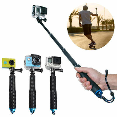 Waterproof Monopod Tripod Selfie Stick Pole Handheld for Gopro Hero 4 3 New