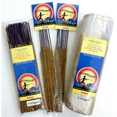 MOONDANCE Quality Incense OPIUM 250g BULK INCENSE FAST SHIPPING SMUDGE - SAVE